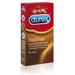 Durex Real Feel latexfri 6st